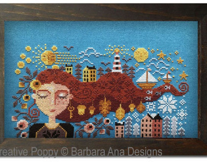 Dreaming Girl by Barbara Ana Designs