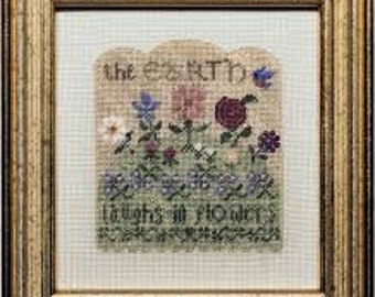 Earth's Flowers by Erica Michaels Needleart Designs
