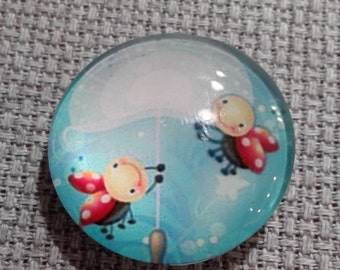 Two if by Dandelion Needle Minder (0148)