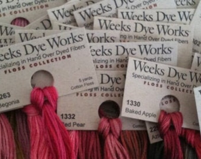 G's - Weeks Dye Works Hand Over-dyed Threads