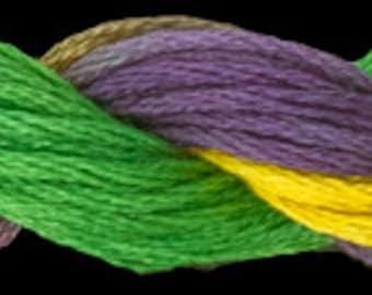 Mardi Gras (01153) Threadworx over-dyed embroidery threads