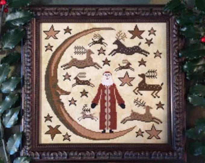 Deer Santa by Kathy Barrick