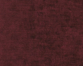 Red Wine Chenille Finishing Fabric