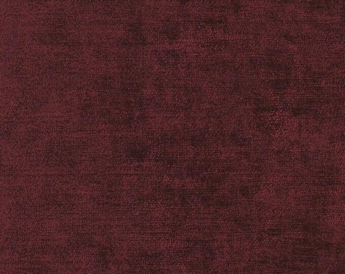 Red Wine Chenille Finishing Fabric
