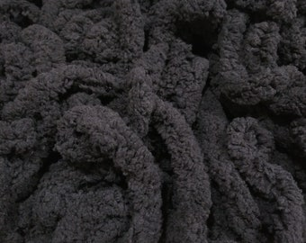 """3/8"""" Chenille Trim (Coal) by Vintage NeedleArts"""