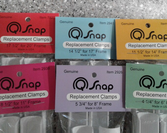 Q-Snap Replacement Clamps - assorted sizes