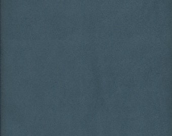 Victorian Blue Micro Suede Finishing Fabric