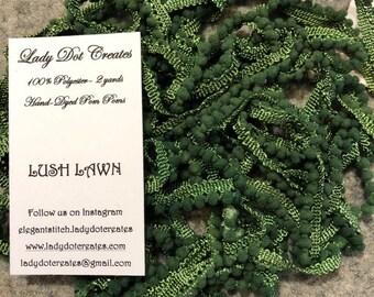 Mini Pom Pom Trim (Lush Lawn) by Lady Dot Creates