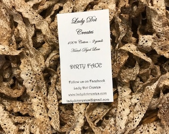Cotton Lace Trim (Dirty Face) by Lady Dot Creates