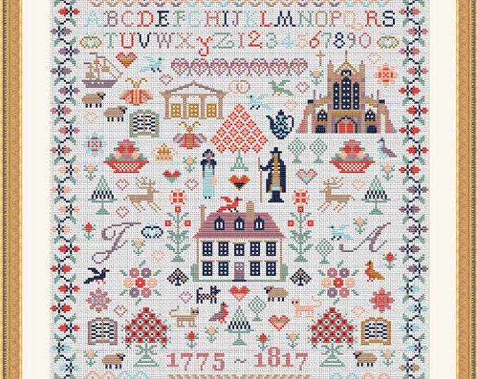 Jane Austen Sampler by Riverdrift House