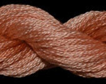 Spiced Peach (010330) Threadworx over-dyed embroidery threads