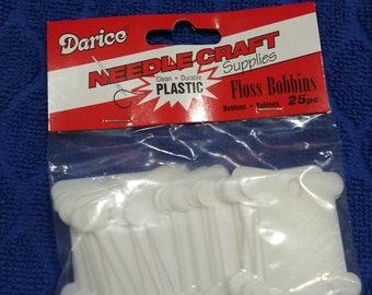 Plastic Floss Bobbins Darice pack of 25