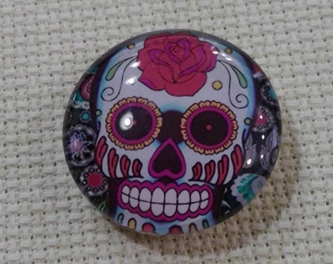 Sugar Skull Needle Minder (0202)