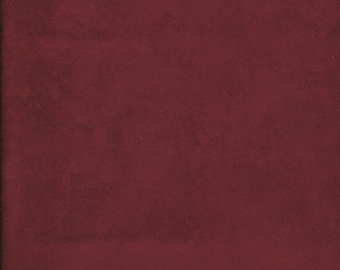 Garnet Micro Suede Finishing Fabric