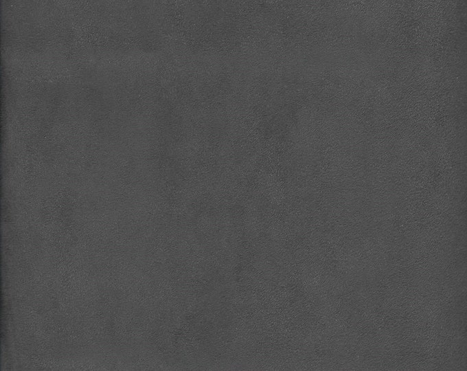Charcoal Gray Micro Suede Finishing Fabric