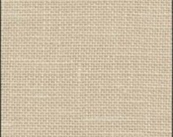 32 ct Latte Belfast Linen from Zweigart (also known as Sand)