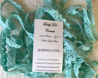 Cotton Lace Trim (Wading Pool) by Lady Dot Creates