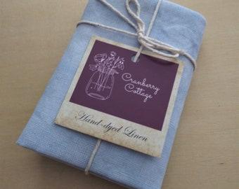 28 32 36 ct Mystic Blue Linen - Cranberry Cottage Primitives by Vintage NeedleArts