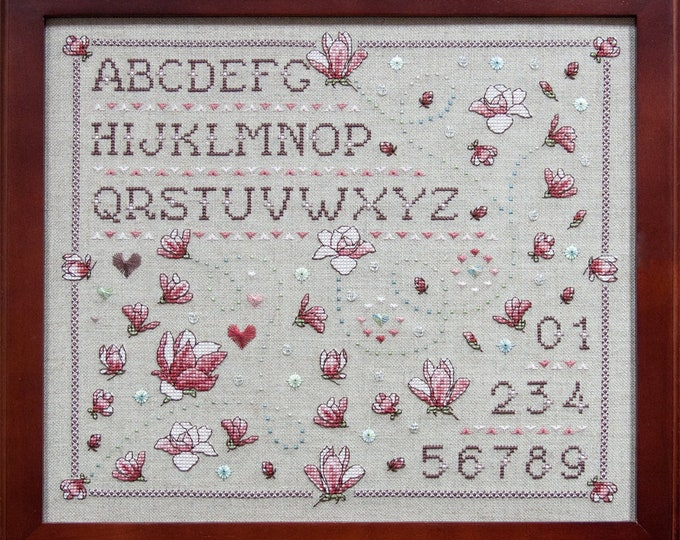 Magnolia Sampler by Faby Reilly Designs