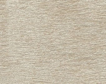 Cream Chenille Finishing Fabric