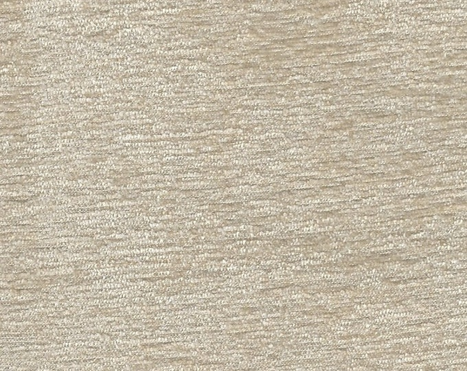 Cream Chenille Finishing Fabric