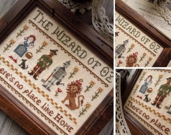 The Wizard of Oz by The Little Stitcher