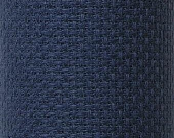 Navy Blue Aida
