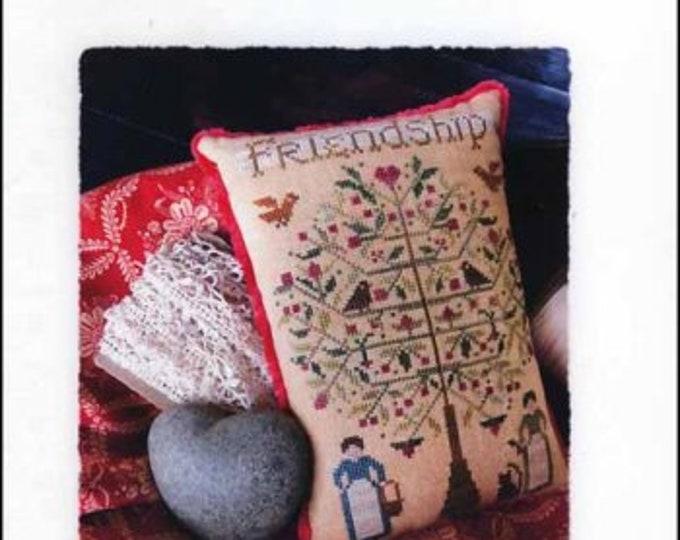 The Friendship Tree by Shakespeare's Peddler cross stitch chart design
