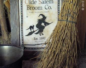Olde Salem Broom Co. by The Primitive Hare