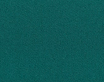 Tropical Teal Felted Wool Finishing Fabric