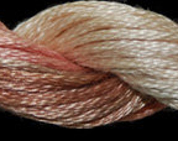 Terracotta (01027) Threadworx over-dyed embroidery threads