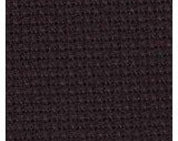 Black Aida Orphan Fabric (undyed)