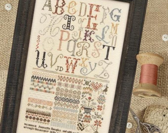 ABC Sampler by Jeannette Douglas Designs