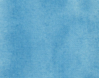Caribbean Blue Solid Orphan Fabric