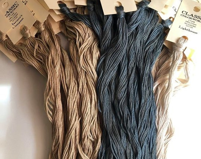 T - U - V - Classic Colorworks Over-dyed Thread