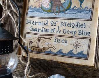 Guardian Mermaid by The Primitive Hare