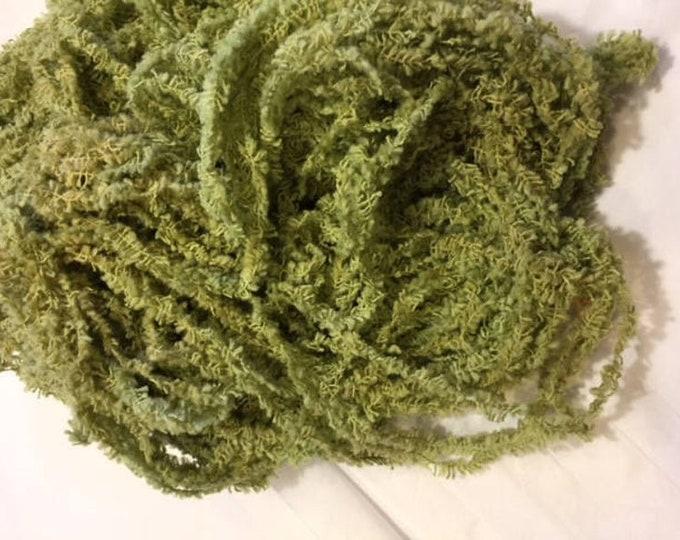 Eyelash Chenille Trim (Algae) by Lady Dot Creates