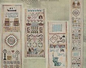 Isle of Hope Sampler - Ellis Island by Jeannette Douglas Designs