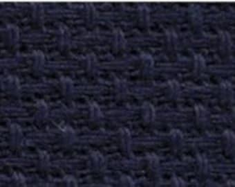 14 ct Navy Blue Aida Aida Charles Craft