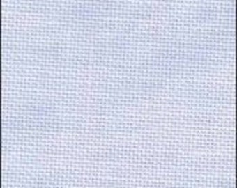 Vintage Blue Whisper Linen from Zweigart