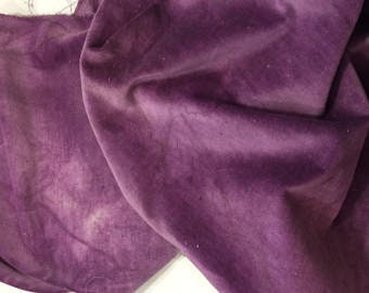 Cotton Velveteen (Purple Onion) from Lady Dot Creates