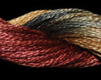 Shanghai Nights (01040)  Threadworx over-dyed embroidery threads