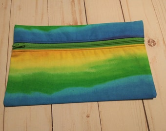 Small Project Bag (Rainbow) from Ames Custom Creations