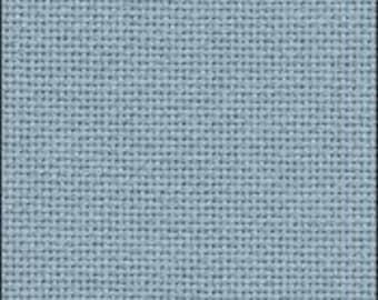25 ct Water Sapphire Lugana from Zweigart cross stitch fabric cloth premium quality evenweave deep blue