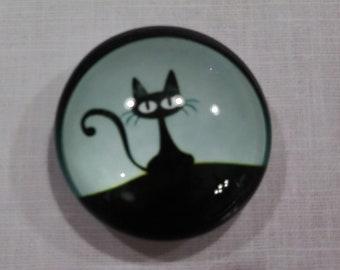Black Cat Needle Minder (315)