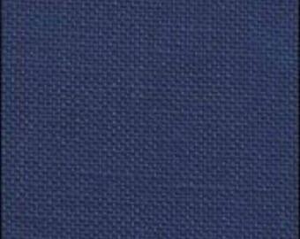 Navy Linen from Zweigart