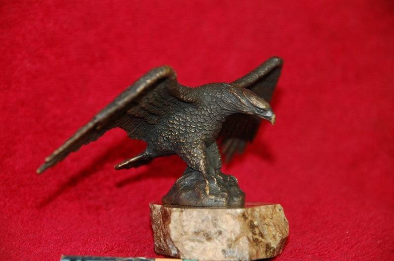 Vintage bronze casting Spider tarantula figurine metal brass sculpture figure