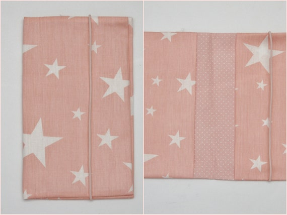 Couche-culotte sac couches sac blanc grand Star rose filles babyshower maman cadeau