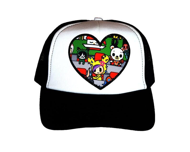 f07ba4669aa51 Sushi Cars Trucker Hat Custom Item from Ju Ju Be x Tokidoki