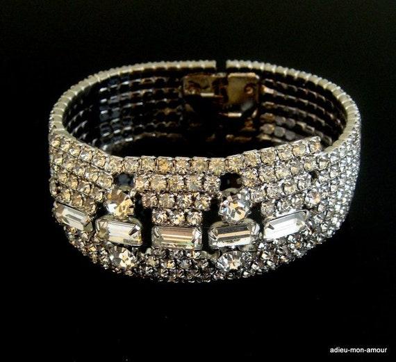 1940s Bridal Bracelet